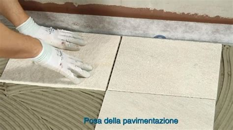 posa pavimento su pavimento membrane impermeabilizzanti sotto pavimento