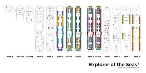 explorer of the seas floor plan royal caribbean international explorer of the seas