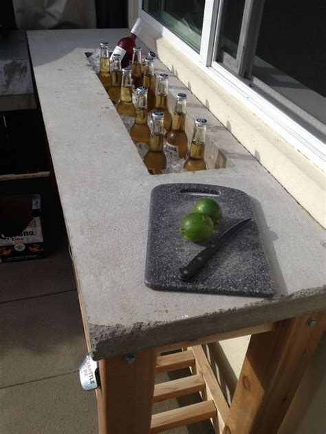 building a bar top counter i am so building this outdoor bar concrete counter top concrete ideas