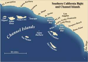 channel islands california map coaching for pizza santa island