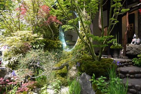 japanese flower gardens japanese garden ishihara kazuyuki chelsea flower show 2015