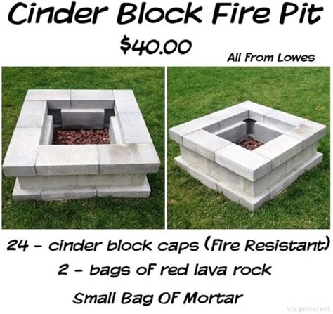 easy diy pit kit with grill decorate 27 surprisingly easy diy bbq pits anyone make