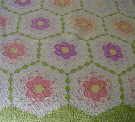 Grandmother S Flower Garden Quilt Pattern Grandmother S Grandmothers Flower Garden Quilt Pattern