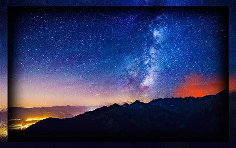 fondo pantalla bonita noche mar fondo escritorio paisaje bonita noche estrellada