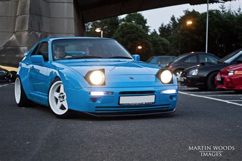 widebody porsche 944 porsche 944 s2 riviera blue wide modified 228 bhp