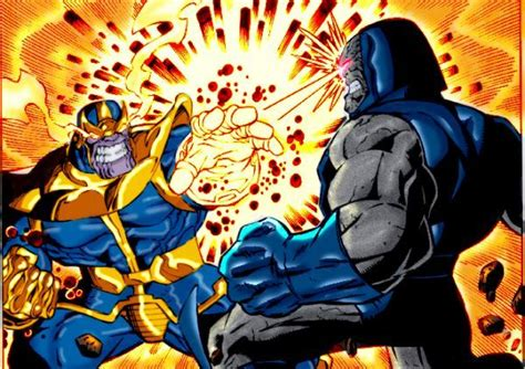 Copy Cat Justice darkseid and thanos will dc play the copycat
