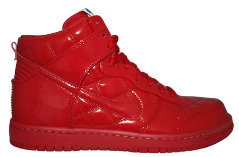 Nike Dunk High Supreme by Nike Dunk High Supreme Quilted Patent Leather Olympic