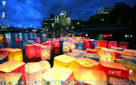 themes for windows 7 japan windows 7 theme bing s best japan