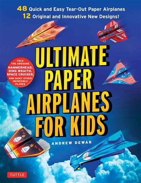 How To Make Paper Planes Book - ultimate paper airplanes for newsouth books