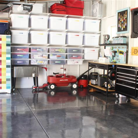 how to organize a garage brilliant ways to organize the garage blue i style