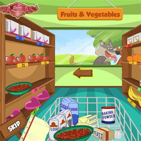 juego de comprar comida para cocinar juegos juego de comprar con caperucita roja juegos