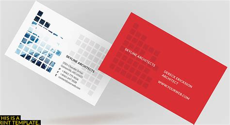 architecture business cards 18 architect business cards free premium templates