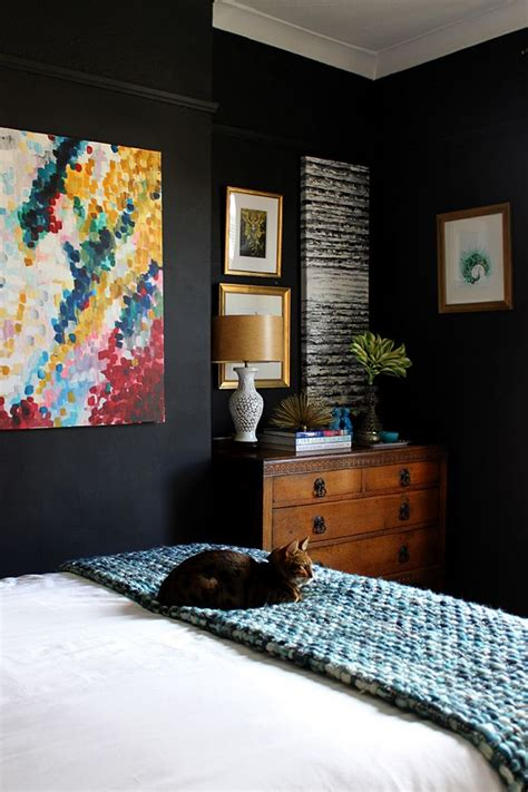 black bedroom walls 8 bold paint colors you have to try in your small bedroom