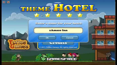 Theme Hotel Ep 1 | theme hotel road to five star ep 1 youtube