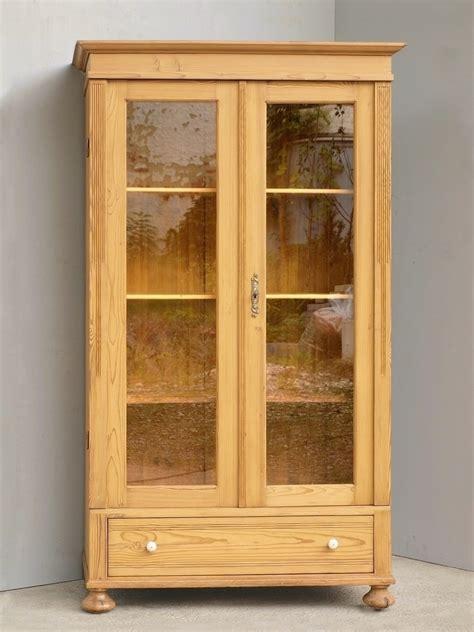 glasvitrine antik alte antike vitrine im gr 252 nderzeitstil bauernm 246 bel