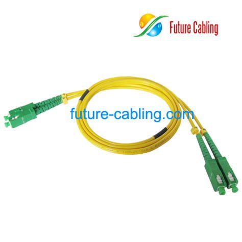 Patchcord Scapc Scapc Singlemode Duplex 40 Meter wholesale cheap sc apc sc apc fiber optic patch cords duplex singlemode 9 125um 3 0mm xx