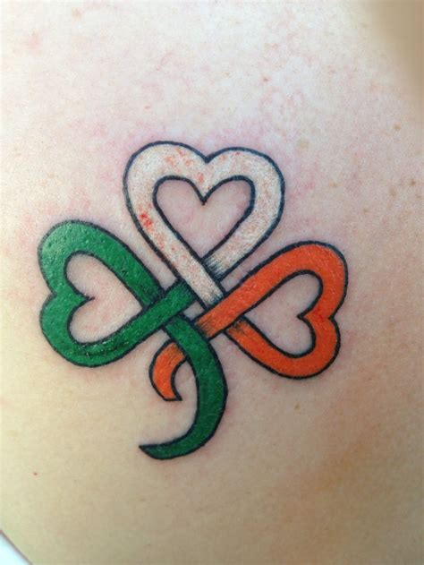 shamrock tattoo my pride