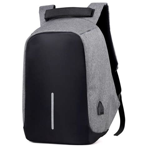 Tas Backpack Ransel Anti Theft Ransel Bp02 Tas Ransel Laptop Anti Maling Dengan Usb Charger Port