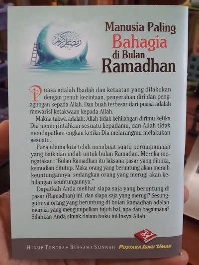Souvenir Sejak Memilih Meminang Hingga Menikah buku saku manusia paling bahagia di bulan ramadhan toko