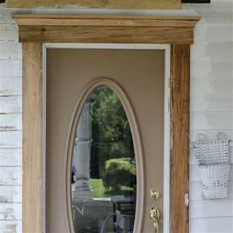 Front Door Trim Designs Exterior Door Trim Adds Curb Appeal Hometalk
