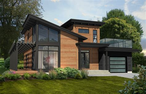 modern homes design the monterey wins favorite contemporary home plan timber