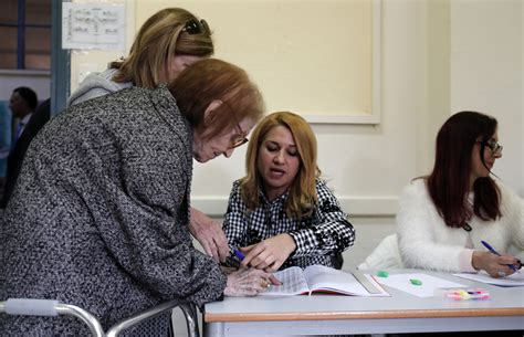 cyprus votes in close presidential run off business recorder