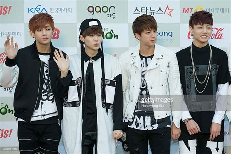 bts korean boy band 3rd gaon chart k pop awards getty images