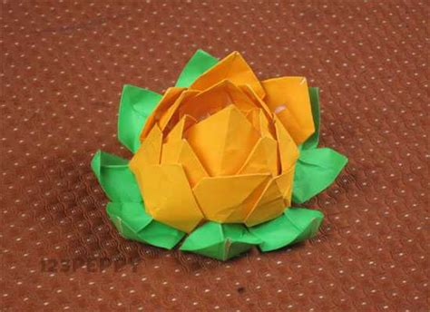 How To Make A Paper Lotus Step By Step - how to make a lotus with paper 123peppy