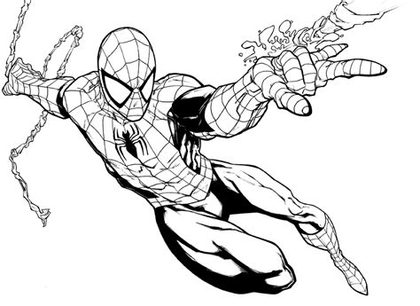 spiderman coloring pages iron spiderman coloring pages