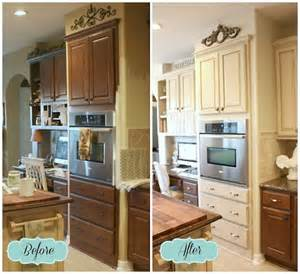 Painting Old Kitchen Cabinets Before And After French Farmhouse Diy Kitchen Makeover French Farmhouse