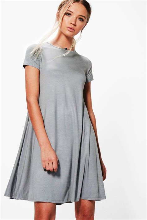 cap sleeve swing dress boohoo womens rina cap sleeve swing dress ebay