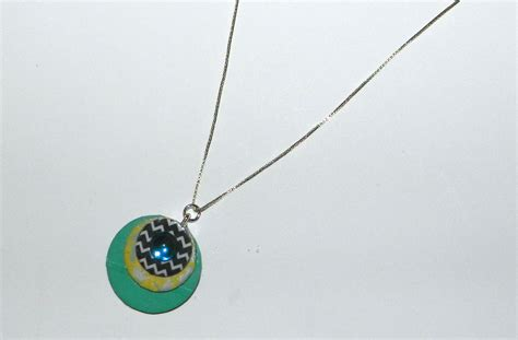 washer necklace with washi a craft in your day