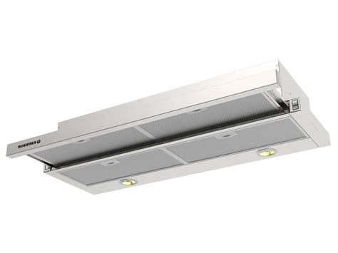 hotte tiroir escamotable 90 cm rosieres rht9324in