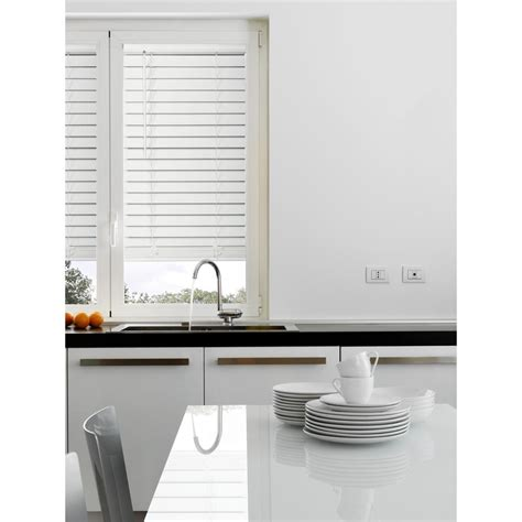 Home Decorators Collection Faux Wood Blinds by Home Decorators Collection White Cordless 2 1 2 In Premium Faux Wood Blind 19 In W X 64 In