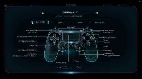 Ps4 Mass Effect Andromeda 1 ps4 controls mass effect andromeda wiki