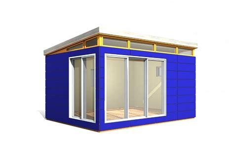 backyard office kit 12 x 16 modern shed 192 sq ft prefab shed kit provided