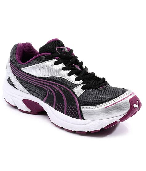 axis 3 dp white purple sport shoes price in india