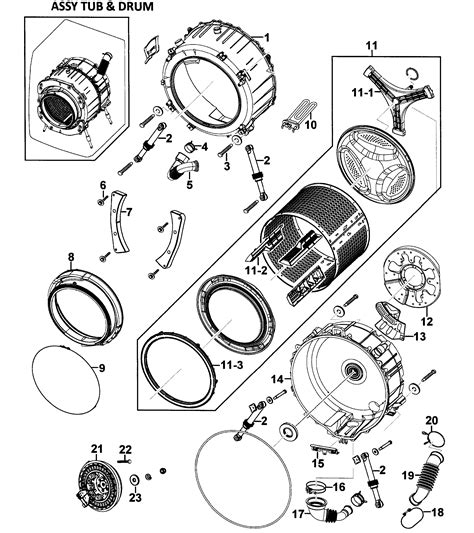 samsung parts drum assy diagram parts list for model wf328aawxaa0000 samsung parts washer parts