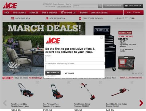 ace hardware online ace hardware coupons acehardware com promotion codes