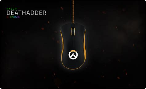 overwatch razer deathadder chroma ergonomic mouse