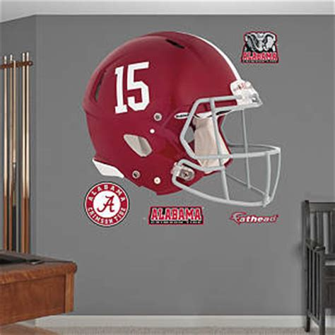 Alabama Crimson Tide Home Decor Alabama Crimson Tide 2013 Helmet Wall Decal Shop Fathead