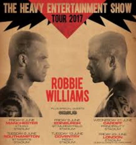 reveal robbie williams books exclusive vip events luxury guest list venues