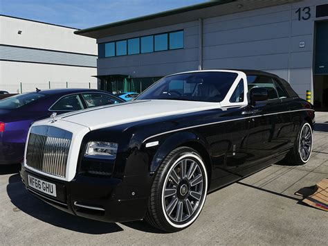 roll royce phantom white black and white rolls royce phantom drophead topaz