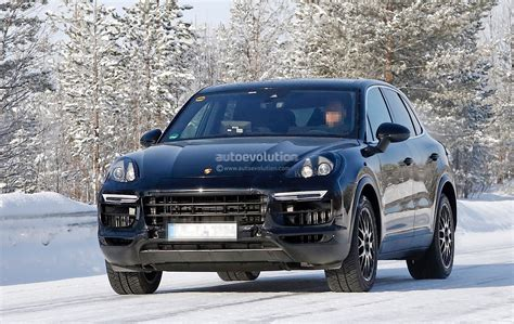 Porsche Cayenne 2018 by 2018 Porsche Cayenne Spied Once More Enjoying The Last