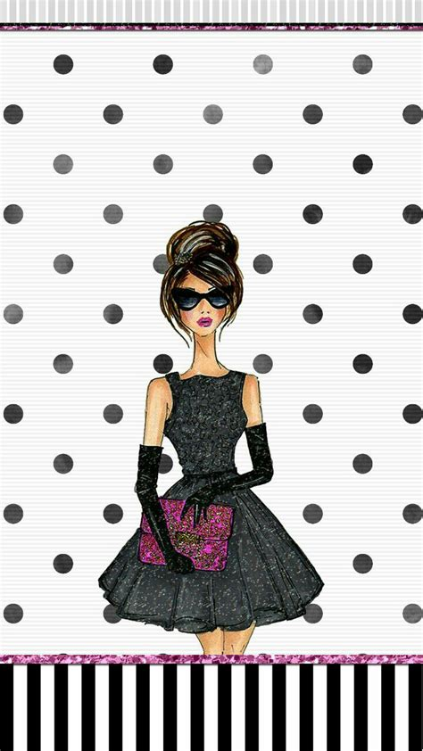 wallpaper for iphone fashion fashion girl wallpaper iphone cute walls by me