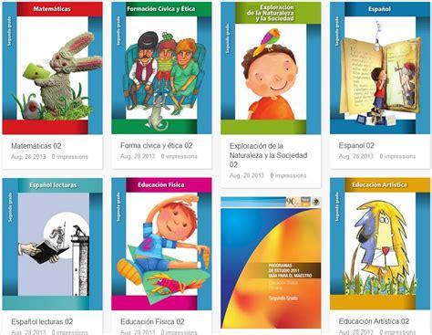 55 ciclo escolar libros de texto para 2do grado 2014 2015