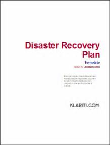 it dr plan template disaster recovery plan template ms word excel