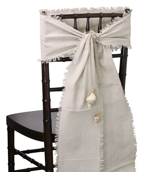 Chair Sashes by Linen Chair Sashes Burlapfabric Burlap For Wedding