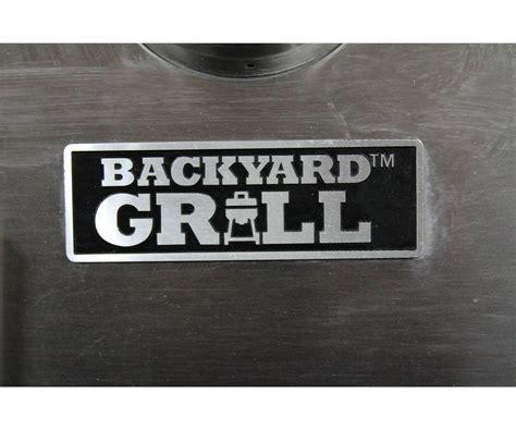 backyard grill brand stainless bbq