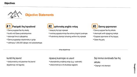 business objective statement workshop capture templates for customer journeys content